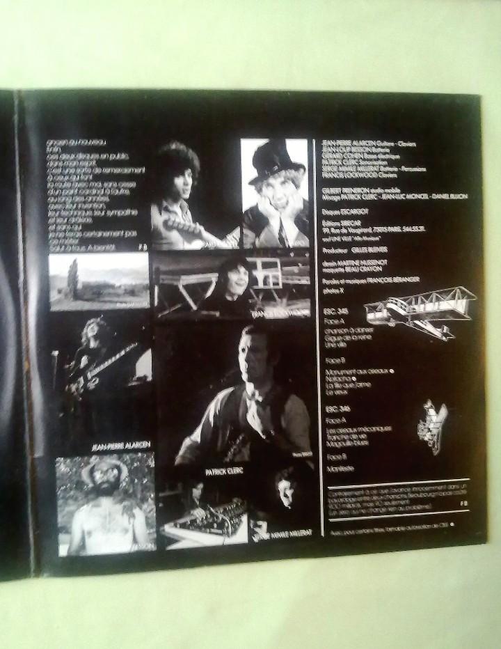 Discos de vinilo: FRANCOIS BERANGER. - Foto 3 - 107724343