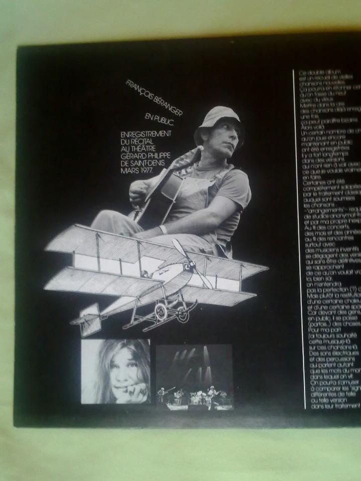 Discos de vinilo: FRANCOIS BERANGER. - Foto 5 - 107724343