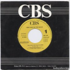 Discos de vinilo: NEW KIDS ON THE BLOCK_THIS ONE'S FOR THE CHILDREN_VINILO 7'' SINGLE PROMO ESPAÑOL_1990. Lote 107730499