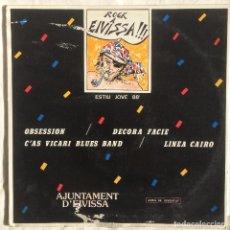 Discos de vinilo: VIVA VOZ ( RAREZA ROCK IBICENCO 1988 ) PROMOCIONAL. Lote 107734123