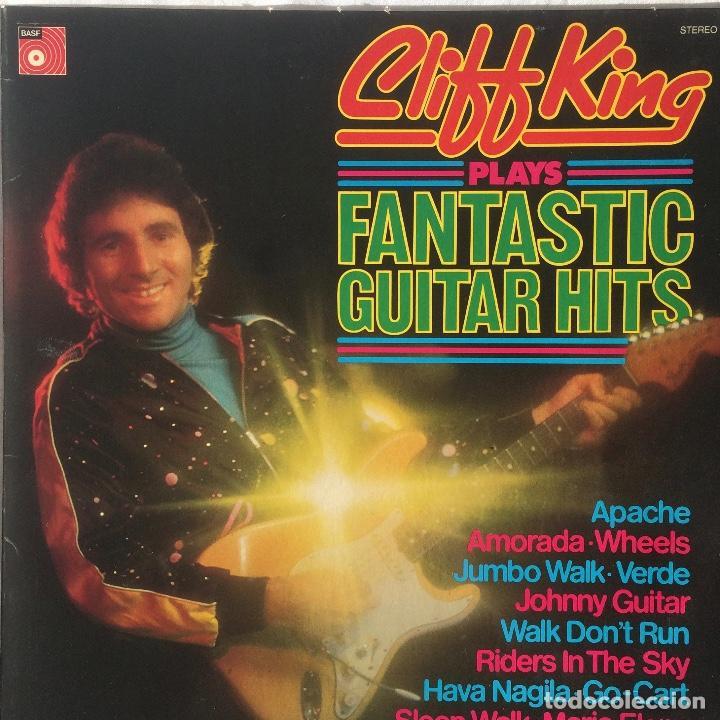 CLIFF KING – CLIFF KING PLAYS FANTASTIC GUITAR HITS ( NO DUDE EN OFERTAR ) (Música - Discos - LP Vinilo - Rock & Roll)