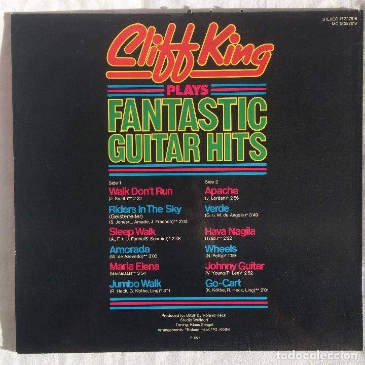 Discos de vinilo: Cliff King – Cliff King Plays Fantastic Guitar Hits ( no dude en ofertar ) - Foto 2 - 107735287
