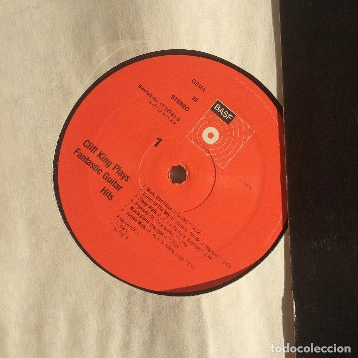 Discos de vinilo: Cliff King – Cliff King Plays Fantastic Guitar Hits ( no dude en ofertar ) - Foto 3 - 107735287
