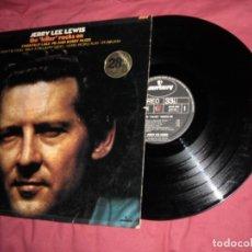 Discos de vinilo: JERRY LEE LEWIS - THE KILLER ROCKS ON 1972 LP MERCURY FRANCE. Lote 107740627