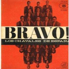 Discos de vinilo: LOS CHAVALES DE ESPAÑA - BRAVO - LP - ED. BRASIL. Lote 107740631