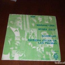 Discos de vinilo: ANTONIO LATORRE NEGRA ZULU ( RUMBA)+3 RARE!!PROMOCIONAL 1973. Lote 107752391