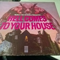 Discos de vinilo: MUSICA LP HEAVY HELL COMES TO YOUR HOUSE METALLICA ANTHRAX EXCITER LOUDNESS EDICION POLONIA 1984. Lote 107770075