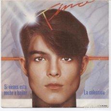 Discos de vinilo: TINO_PARCHIS_SI VIENES ESTA NOCHE A BAILAR/LA COLECCIÓN_VINILO 7'' SINGLE_1984 COMO NUEVO!!!. Lote 107773159
