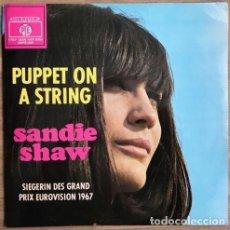 Discos de vinilo: SANDIE SHAW - PUPPET ON A STRING (LP DE EDICIÓN ALEMANA). Lote 107795095
