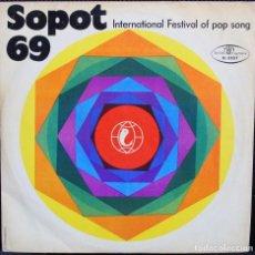 Discos de vinilo: SOPOT 69 - INCL. CONCHITA BAUTISTA (RARA EDICIÓN POLACA). Lote 107795495
