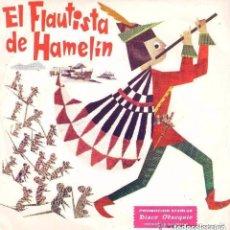 Discos de vinilo: EL FLAUTISTA DE HAMELIN, AÑO 1967,OBSEQUIO DE STARLUX . Lote 145812404
