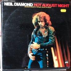 Discos de vinilo: HOT AUGUST NIGHT. NEIL DIAMOND. Lote 107815235