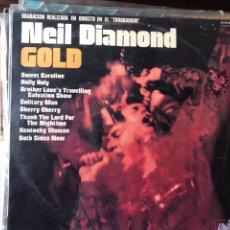 Discos de vinilo: GOLD. NEIL DIAMOND. Lote 134082254