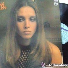 Discos de vinilo: ANA BELEN, LP DE PHILIPS 1988, DE PASO +16 TEMAS. Lote 295399073