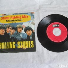 Discos de vinilo: ROLLING STONES-STREET FIGHTING MAN- SINGLE ALEMAN- DL25350-RARO!!!. Lote 107831247