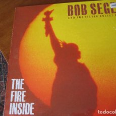 Disques de vinyle: BOB SEGER - THE FIRE INSIDE; PERFECTO ESTADO. Lote 107839575
