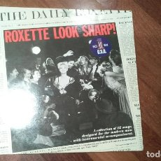 Discos de vinilo: ROXETTE-LOOK SHARP!.LP ESPAÑA 1988. Lote 107859243