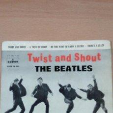 Discos de vinilo: BEATLES - TWIST AND SHOUT +3 - BUEN ESTADO . Lote 107861935