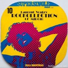 Discos de vinilo: LAURENT VOULZY - ROCKOLLECTION + LE MIROIR MAXI SINGLE RCA 1977. Lote 107864055