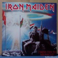 Discos de vinilo: IRON MAIDEN - TWO MINUTES TO MIDNIGHT 1984 GER. Lote 107899627