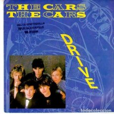 Discos de vinilo: THE CARS, DRIVE, SINGLE FRANCE 1984 . Lote 107901335