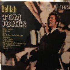 Discos de vinilo: TOM JONES-DELILAH-1968. Lote 107920383