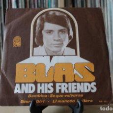 Discos de vinilo: BLAS AND HIS FRIENDS -EP- BAMBINA + 4 OR SPAIN 1974. Lote 107941479