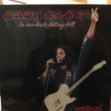 Discos de vinilo: EDDY GRANT-EN VIVO DESDE NOTTING HILL-1982-PROMOCIONAL 6 TEMAS-ENCARTE. Lote 107944550