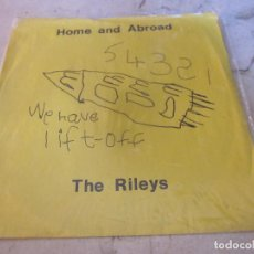 Discos de vinilo: HOME AND ABROAD / THE RILEYS FLEXI - LOVELY RECORDS 1990. Lote 107950599