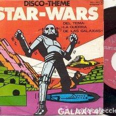Discos de vinilo: STAR -WARS ( SERIE TV ) LA GUERRA DE LAS GALAXIAS / SINGLE 45 RPM / EDITADO POR ZAFIRO. Lote 107960055