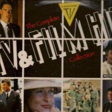 Discos de vinilo: DISCOS LP: TV & FILM HITS. DOBLE CARPETA. DOS DISCOS. (ST/C1). Lote 107966055