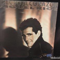 Discos de vinilo: MIGUEL RÍOS- DIRECTO AL CORAZÓN - LP. Lote 107986264