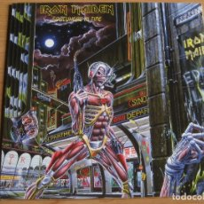 Discos de vinilo: IRON MAIDEN: SOMEWHERE IN TIME / NWOBHM. Lote 183454341