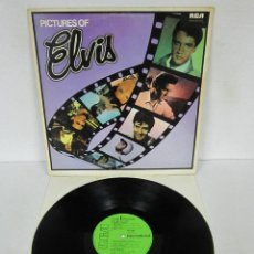 Discos de vinilo: ELVIS PRELEY - PICTURES OF ELVIS - LP - RCA 1967 UK INTS 5001. Lote 107988403