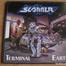 Discos de vinilo: SCANNER: TERMINAL EARTH / HELLOWEEN, GAMMA RAY, PRIMAL FEAR, IRON MAIDEN, RUNNING WILD, RAGE.... Lote 107991571
