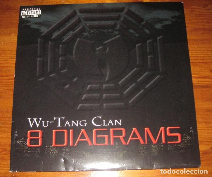 Wu Tang Clan8 Diagrams Lp 2xlp Comprar Discos Lp Vinilos De