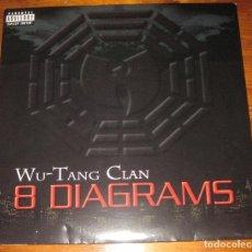 Discos de vinilo: WU-TANG CLAN–8 DIAGRAMS LP (2XLP). Lote 108005219