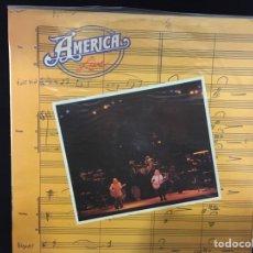 Discos de vinilo: AMERICA - LIVE - LP. Lote 108010376