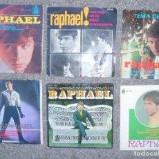 Discos de vinilo: DISCOS SINGLES AÑOS 60 RAPHAEL 13. Lote 108014175
