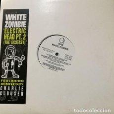 Discos de vinilo: ROB ZOMBIE - WHITE ZOMBIE - ELECTRIC HEAD PT2 - MAXI SINGLE PROMOCIONAL ESTADOS UNIDOS. Lote 108016111