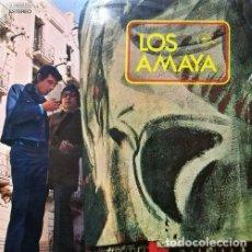 Discos de vinilo: LOS AMAYA Y SU COMBO GITANO- GROOVY GIPSY ACID FUNK COMBO LP 1ST PRES 1971 EMIDISC. Lote 108016427