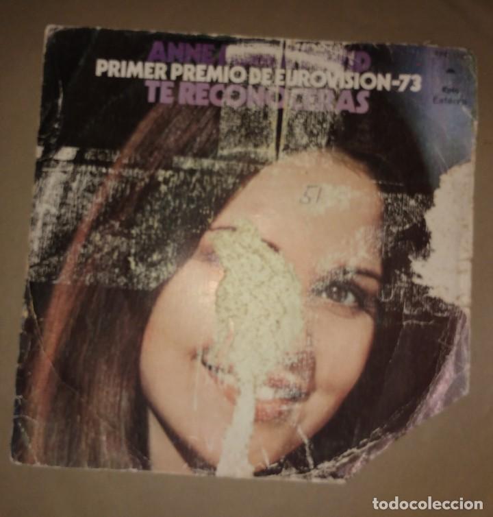 Discos de vinilo: ANNE MARIE DAVID - TE RECONOCERÁS 1º PREMIO EUROVISIÓN - Foto 2 - 108018395
