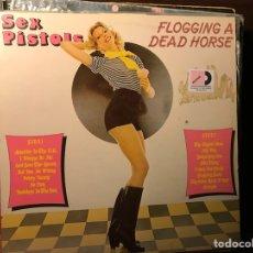Disques de vinyle: FLOGGING A DEAD HORSE. SEX PISTOLS. Lote 182717222