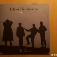 Discos de vinilo: ECHO AND THE BUNNYMEN - THE GAME- SINGLE VINILO. Lote 108036899