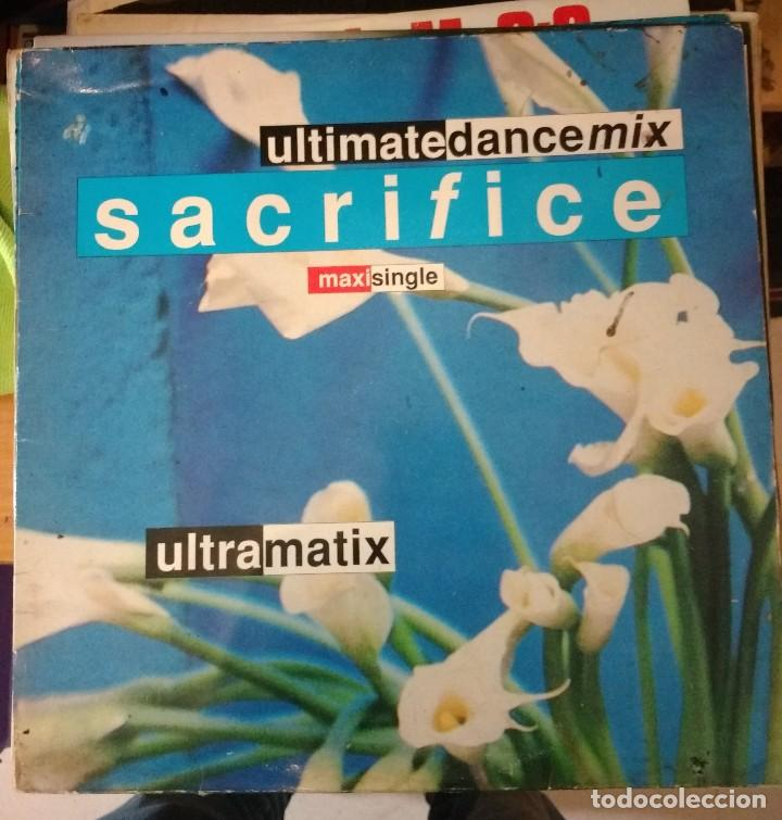 ULTRAMATIX – SACRIFICE (Música - Discos de Vinilo - Maxi Singles - Disco y Dance)