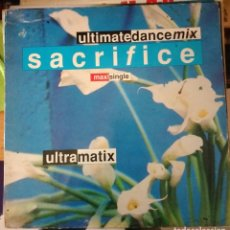 Discos de vinilo: ULTRAMATIX – SACRIFICE. Lote 108037507
