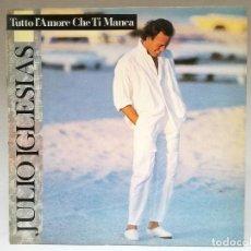 Discos de vinilo: LP VINILO JULIO IGLESIAS EN ITALIANO. Lote 108037511