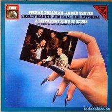 Discos de vinilo: ITHZAK PERLMAN & ANDRE PREVIN : A DIFFERENT KIND OF BLUES [ESP 1981]. Lote 108042031