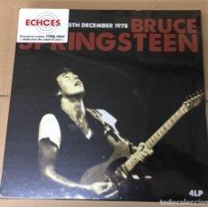 Discos de vinilo: BRUCE SPRINGSTEEN BOX WINTERLAND 15TH DECEMBER 1978 4 LP NUEVA Y PRECINTADA. Lote 108046163