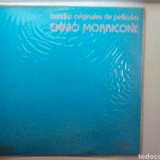 Discos de vinilo: LP DOBLE VINILO. ENNIO MORRICONE. BANDAS ORIGINALES DE PELÍCULAS.. Lote 108047738
